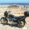 e-Storm(SDH125) in Africa  この125ccバイクでアフリカを8ヶ月間回りました