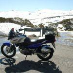 AUS13 弾丸ツーリング1日1000km!目的地の雪山で見たものがスゴすぎた!
