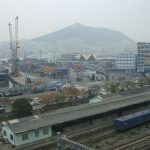 07韓国旅 釜山編1 釜山港へ帰ったよ&ガソリンスタンドの怪
