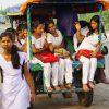 (94)インドの西ベンガル州の田舎と、素朴なる美少女