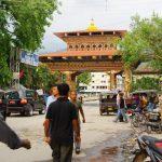 (95)ブータンの道 くびれ要所の国際都市シリグリのブータン人