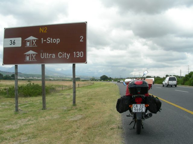 南アフリカ 国道2号 N2