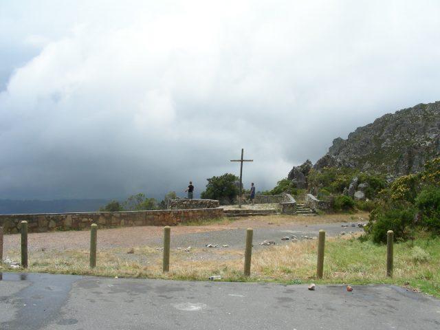 南アフリカ 峠の十字架