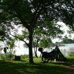 ザンビア西部・田舎の村。アフリカの瀬戸内海・カリバ湖