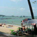 パタヤビーチでの海水浴について