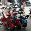 カンボジアで電動自転車(電動スクーター)に乗ってみた