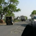 ブッダガヤを出発 ビハール州の道路と野宿は非常につらかった!