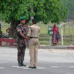 バングラデシュ入国!3時間で見たバングラの様子と、両軍の退陣式を見る