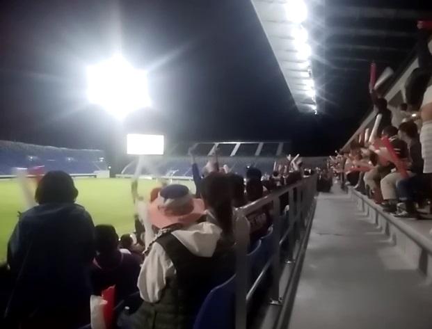 日本対スコットランド 勝利の瞬間
