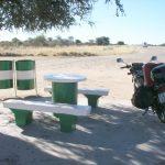 ナミビア北部 ウィントフックから北の荒野へ進む