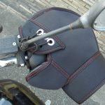 冬の守り神!バイク用ハンドルカバーを付けた結果